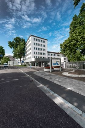 KSB's administration building in Frankenthal, Germany. © KSB AG.