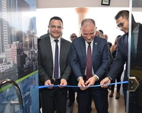 The official opening of Grundfos Egypt's new branch in Alexandria.