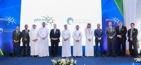 The opening of John Crane's first dry gas seal repair and test facility in Qatar.