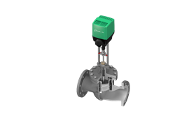 The RTK REflex QC control valve with balanced trim compensates for high differential pressures within the trim.