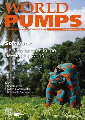 This issue covers software, construction, water & wastewater and chemicals & abrasives.