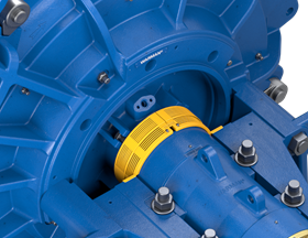 The new guards never need to be removed during pump operation and fully protect maintenance personnel from potentially dangerous situations arising from an exposed shaft.