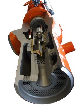 The Copes-Vulcan DSCV-SA is designed for isolation of the steam flow in turbine bypass applications where valves remain closed for long periods of time.