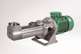 Huangshan RSP Manufacturing Co Ltd's three screw pump for transferring lubricants.