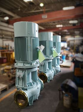 Hamworthy Pumps' CGM250 pump model is a centrifugal pump which is used for scrubber and other engine room applications.