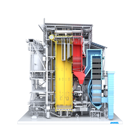 ANDRITZ EcoFluid bubbling fluidized bed boilers are suitable for thermal treatment of almost all types of fuel.