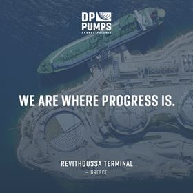 DP Pumps provides pumps for major Greek LNG project