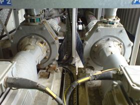 The light gypsum slurry is transferred to the wastewater treatment plant, after which the treated wastewater is disposed of.