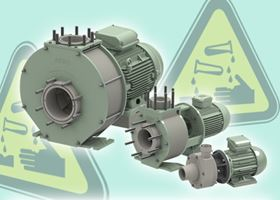 ARBO robust thermoplastic pumps resist aggressive chemicals.