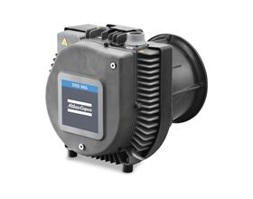 The new oil-free DSS scroll vacuum pump has low energy consumption and, due to the dry running of the pump, no oil changes are necessary.