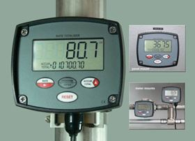 The new flow rate totaliser from Trimec.