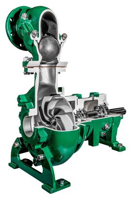 Franklin Electric's Pioneer Pump Vortex Series pumps can deal with challenging solids using vortex technology.
