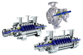 Sulzer's MC, MD and AHLSTAR pumps.