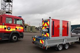 Hidrostal's SuperBetsy pumpset delivered to Lincolnshire Fire & Rescue.