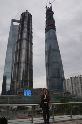 Shanghai Tower - China's tallest building.