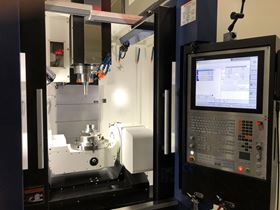 The additional 5-axis movement allows for machining angles and arcs of more than 300 engineering-grade plastics and high-performance polymers.