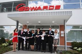 Edwards opens new facility in Lutín, Czech Republic