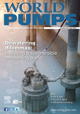 The latest issue of World Pumps is now available. Subscribe today!