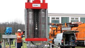 Installation of the new XRipper XRG186 twin-shaft wastewater grinder.