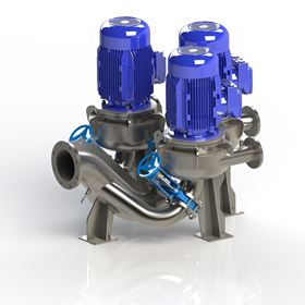 SIDE Industrie has added its DIP-T Triplex direct in-line pumping system to its DIP System range.