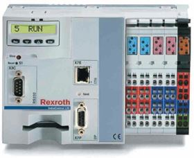 Bosch Rexroth's IndraControl L20 mini-programmable logic controller was proposed for the project.