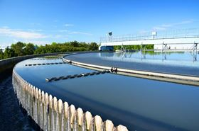 An urban wastewater treatment plant. Image Dmitri Ma/Shutterstock.