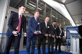 The opening ceremony of the Grundfos BioBooster in Indjija, Serbia.