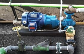 The pump has been designed not need to be realigned either at initial installation or following a maintenance procedure.