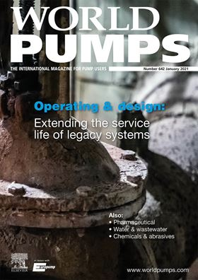 The current issue has articles covering operating & design, pharmaceutical, water & wastewater, and chemicals & abrasives.