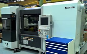 The DMG Mori-Seiki NTX2000 will allow the company to produce components that are fully machined and de-burred.