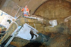 The Tsurumi KTV pump is a lightweight pump used for dewatering on construction sites, in mining and tunnelling.