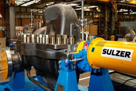 An axially split MSD pump from Sulzer.