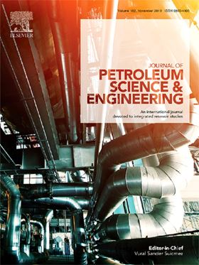 Journal of Petroleum Science and Engineering.