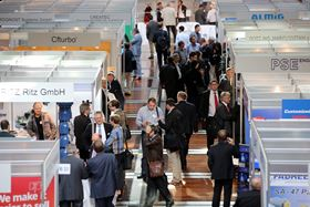Visitors at the last VDMA International Rotating Equipment Conference in 2016.