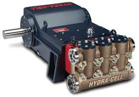 The new Hydra-Cell T200P has a flow capacity of 280 l/m and a maximum discharge pressure of 276 bar.