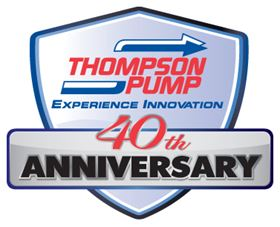 Thompson Pump celebrates its 40th Anniversary