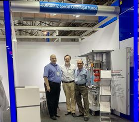 Left to right, Michael Wolf, regional director Asia-Pacific, Frank Bungartz, general manager and Anoop Misra, head of Bungartz Liaison, Mumbai.