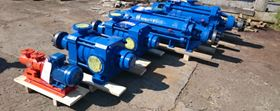 The supplied pumps have a multistage centrifugal design (both horizontal and vertical).