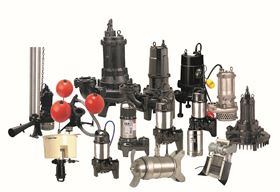 Tsurumi's range of process equipment and sewage and wastewater pump line, on display this week at WEFTEC.