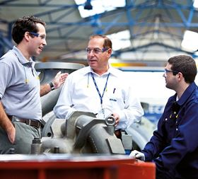Sulzer engineers work with customers to develop the most effective solution with a short lead time.