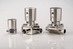 Compared with predecessor models, the new MD30-MD202 actuators feature a reduced overall height. (KSB Aktiengesellschaft, Frankenthal)