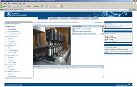 An example screen from the Grundfos Remote Management system.