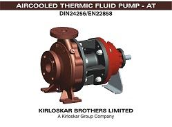 The Aircooled Thermic (AT) pump from the Kirloskar Brothers Ltd.