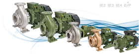 SAER has introduced new sizes and types to its range of close coupled IR pumps.