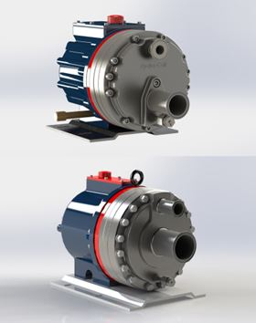 Hydra-Cell G25 and G35 pumps now available with tri-clamp fittings