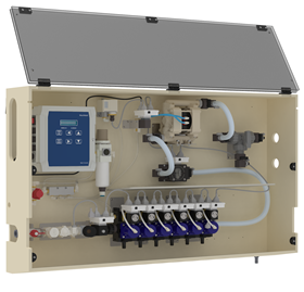 The pneumatic dosing system features a built-in web server and dedicated SekoWeb portal to provide live and historical data.