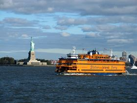 The Staten Island Ferry. Image courtesy of Daniel M. Silva / Shutterstock.com .