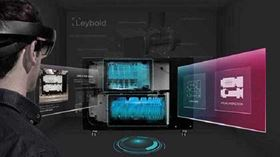 Leybold uses augmented reality to give customers an insight into its products.