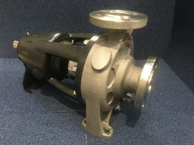 The Amarinth ISO15099 bare shaft pump ready for delivery to BASF.