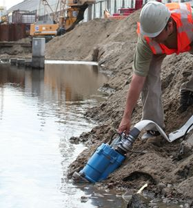 The new pumps are part of the KTZ series of drainage pumps.